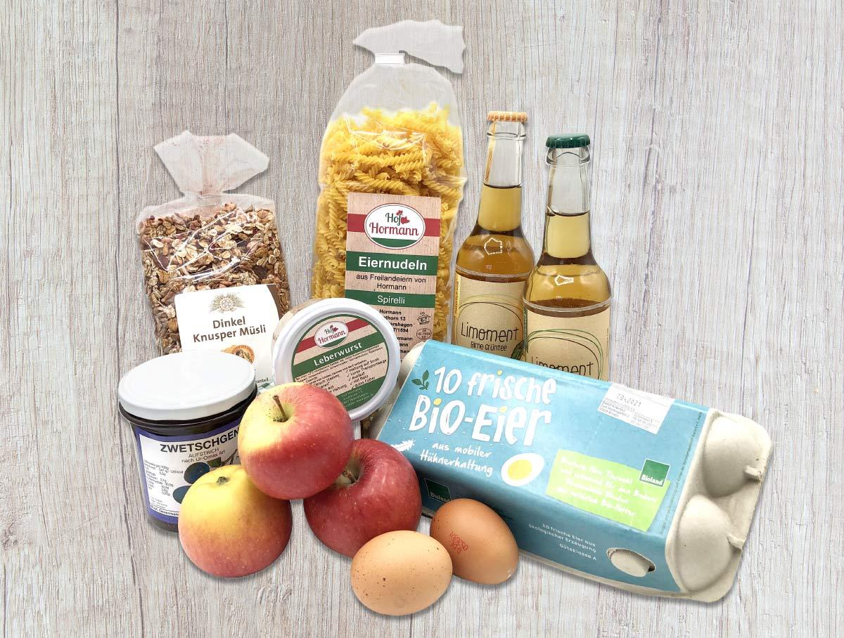 Regionalkiste Woche 2 – diese Produkte sind drin!