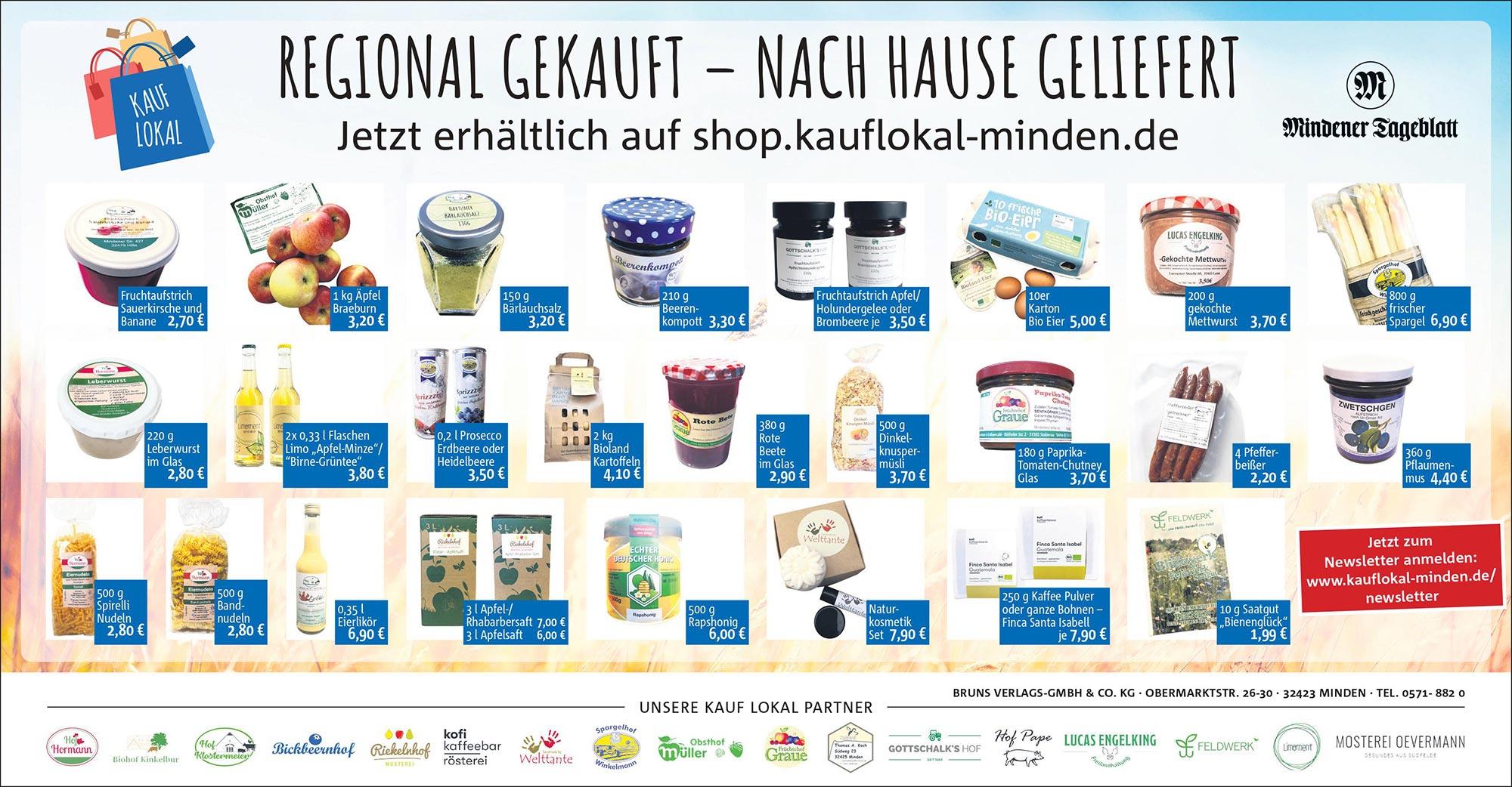 Der Kauf lokal Online-Shop: Ein Marktplatz für Produkte aus der Region!
